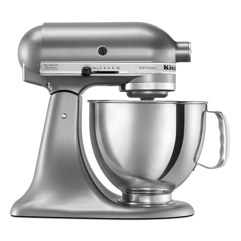KitchenAid KSM150PS Artisan 5-qt. Stand Mixer, Grey