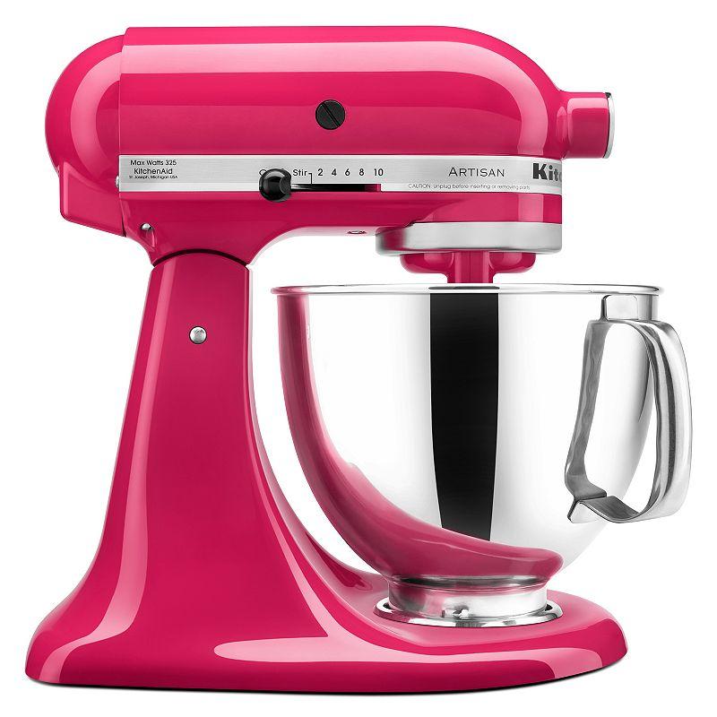 KitchenAid KSM150PS Artisan 5-qt. Stand Mixer (Red)