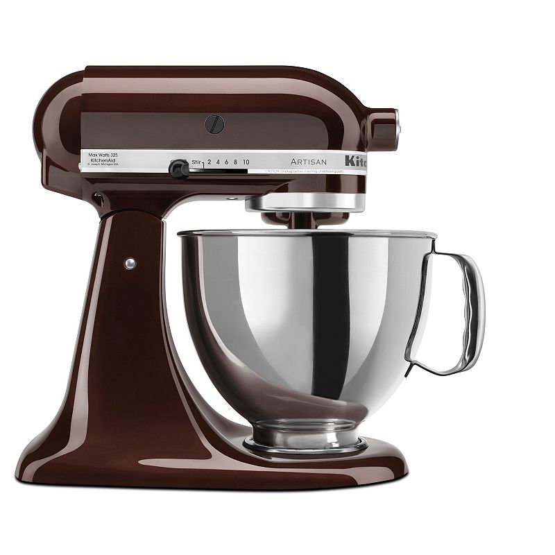 KitchenAid KSM150PS Artisan 5-qt. Stand Mixer (Brown)