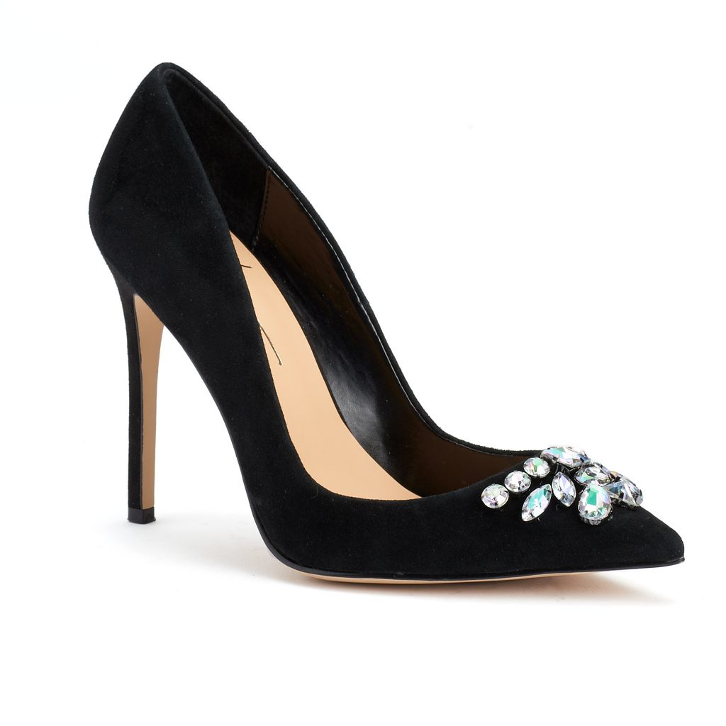 Daya by Zendaya Ashby Women's Suede High Heels