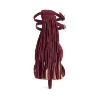 Daya by Zendaya Ansley Women's Fringe High Heels