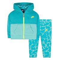 Baby Girl Nike Fleece Hoodie & Pants Set