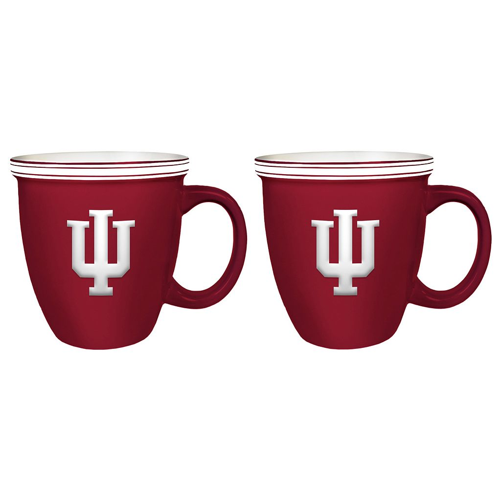 Boelter Indiana Hoosiers Bistro Mug Set