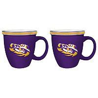 Boelter LSU Tigers Bistro Mug Set