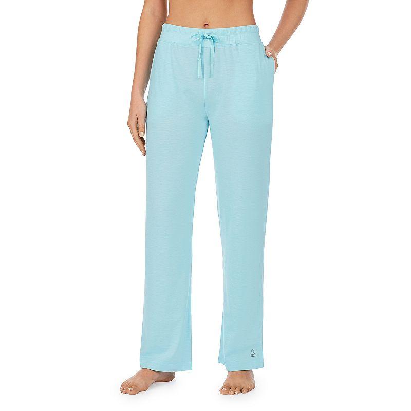 Women's Cuddl Duds Pajamas: Essentials Pajama Pants. Size: XS. Blue