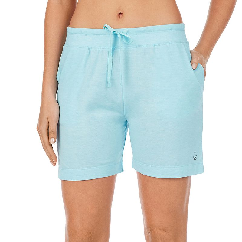 Women's Cuddl Duds Pajamas: Essentials Pajama Sleep Shorts. Size: XS. Blue