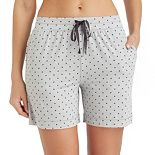 Women's Cuddl Duds Pajamas: Essentials Pajama Sleep Shorts