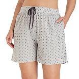 Plus Size Cuddl Duds Pajamas: Essentials Pajama Sleep Shorts