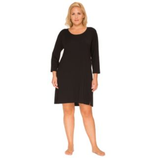 Plus Size Cuddl Duds Pajamas: Essentials Sleep Shirt