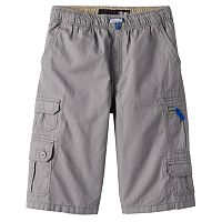 Boys 8-20 Plugg Panther Micro-Rip Cargo Shorts