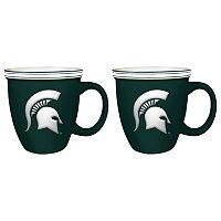 Boelter Michigan State Spartans Bistro Mug Set