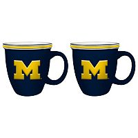 Boelter Michigan Wolverines Bistro Mug Set