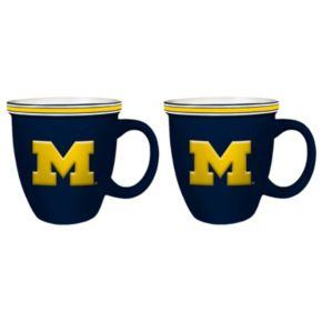 Boelter Michigan Wolverines Bistro Mug Set