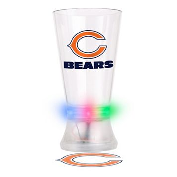 Boelter Chicago Bears Projector Light-Up Pint Glass