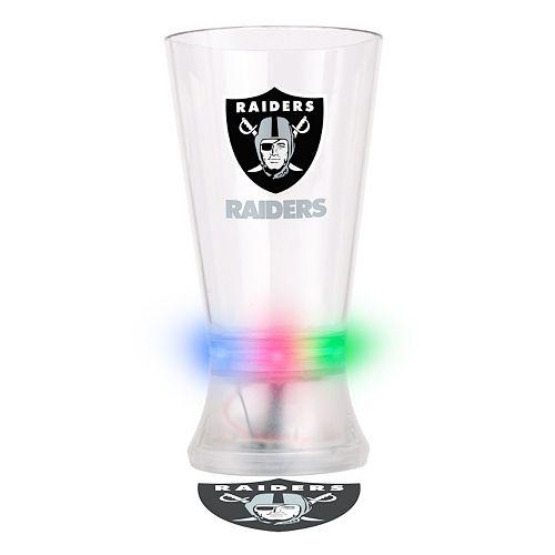 Boelter Oakland Raiders Projector Light-Up Pint Glass
