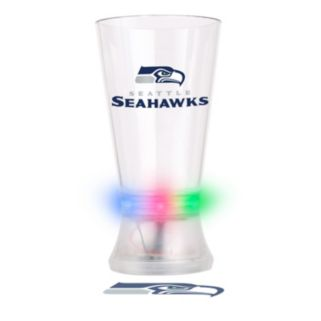 Boelter Seattle Seahawks Projector Light-Up Pint Glass