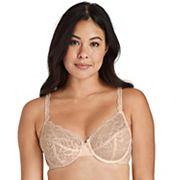 Womens Bali Bali® Lace Desire® Unlined Full Figure Underwire Bra