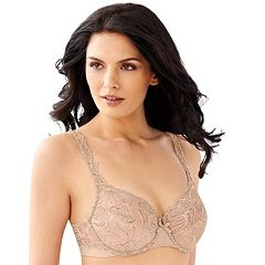 f93ab6774f Bali Bras  Lace Desire Lightly Lined Underwire Bra 6543. Black Champagne  Shimmer ...