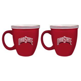 Boelter Ohio State Buckeyes Bistro Mug Set