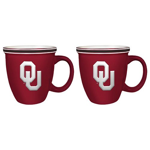 Boelter Oklahoma Sooners Bistro Mug Set