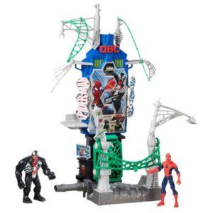 Marvel Spider-Man Web City Showdown Play Set by Hasbro