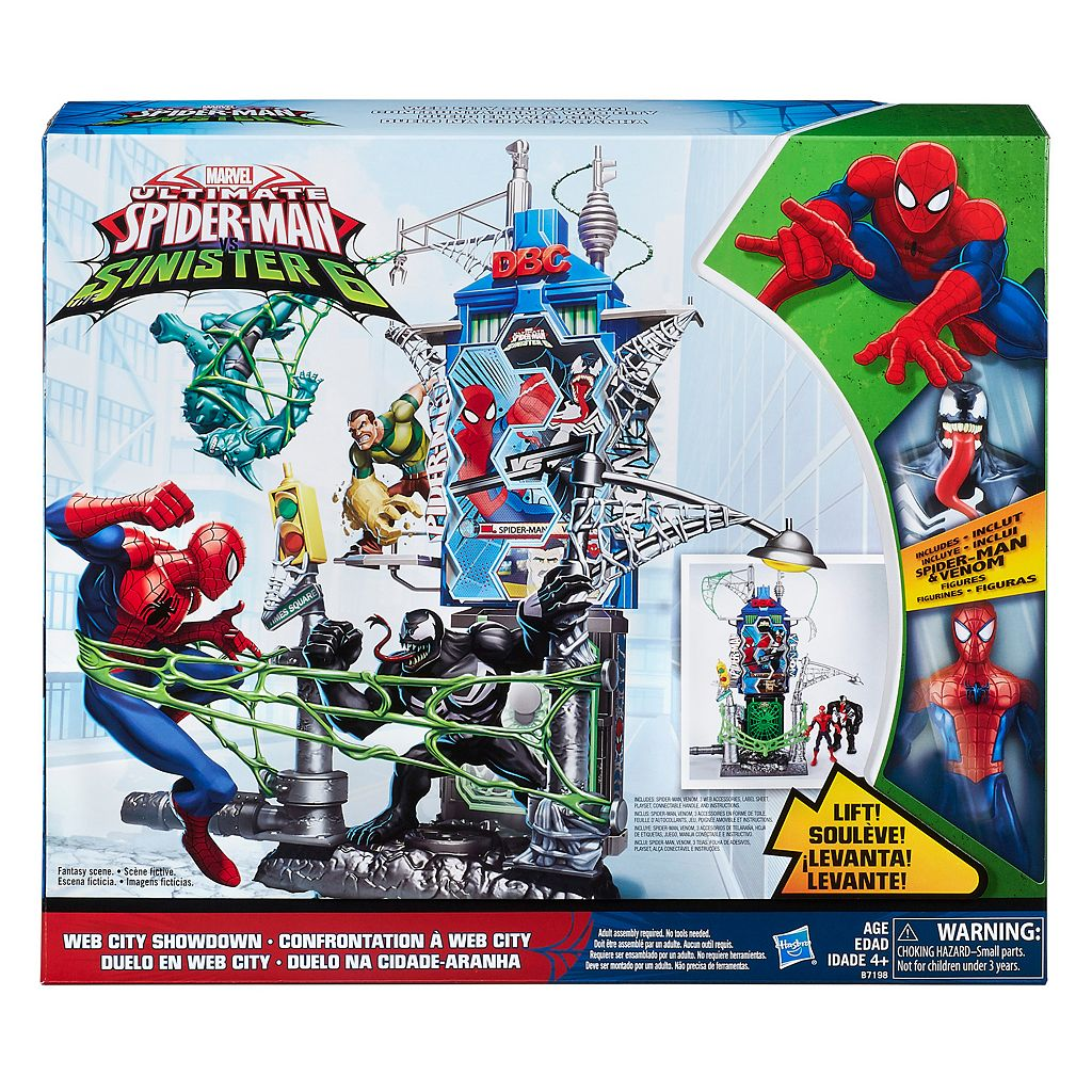 Marvel Spider-Man Web City Showdown Play Set by Hasbro