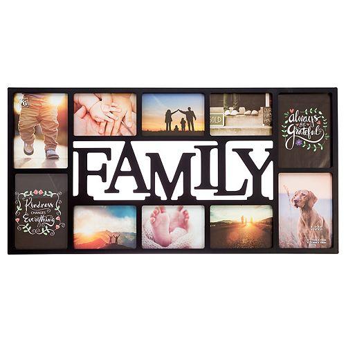 "Kiera Grace ""Family"" 10-opening Wall Photo Collage"