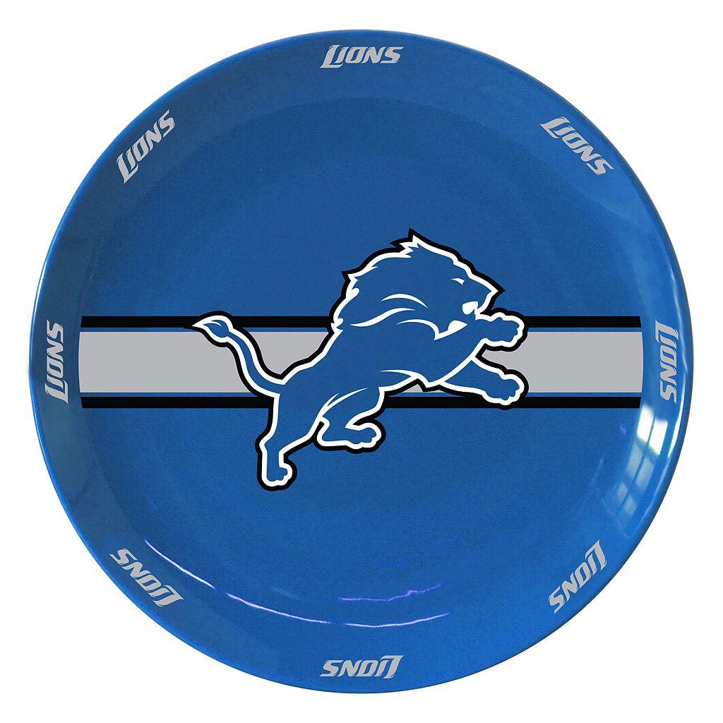 Boelter Detroit Lions Serving Plate