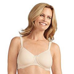 Amoena Bra: Lily Lace-Trim Soft Cup Wire-Free T-Shirt Bra 43912