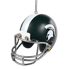 Forever Collectibles Michigan State Spartans Helmet Christmas Ornament