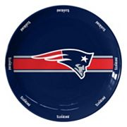 Boelter New England Patriots Serving Plate