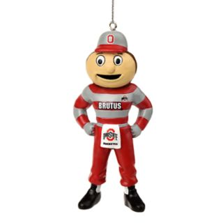 Forever Collectibles Ohio State Buckeyes Brutus Buckeye Christmas Ornament