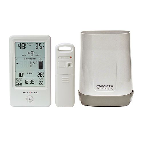 AcuRite Rain Gauge & Weather Station (01089M)