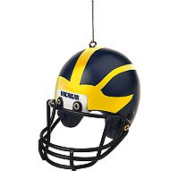 Forever Collectibles Michigan Wolverines Helmet Christmas Ornament