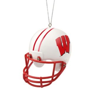 Forever Collectibles Wisconsin Badgers Helmet Christmas Ornament