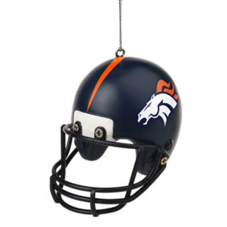 Forever Collectibles Denver Broncos Helmet Christmas Ornament