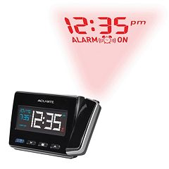 AcuRite Atomic Projection Clock with USB Charger (13021)