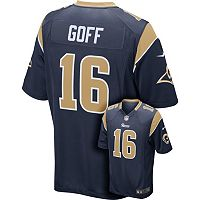 Men's Nike Los Angeles Rams Jared Goff Game NFL Replica Jersey