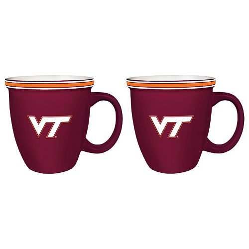 Boelter Virginia Tech Hokies Bistro Mug Set