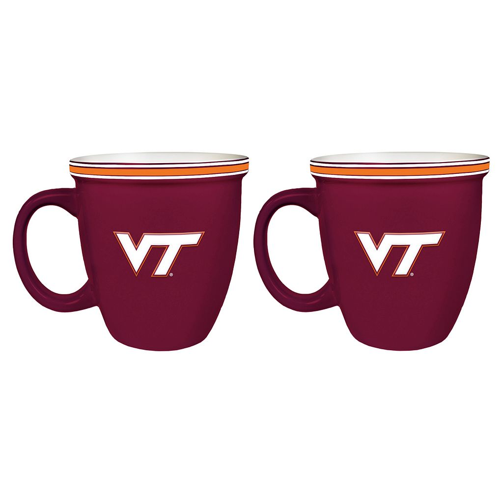 Boelter Virginia Tech Hokies Bistro Mug Set