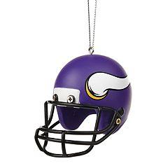 Forever Collectibles Minnesota Vikings Helmet Christmas Ornament