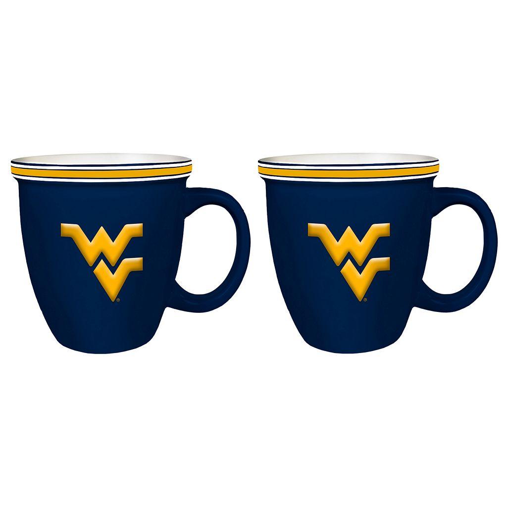 Boelter West Virginia Mountaineers Bistro Mug Set