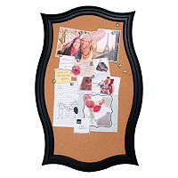 Kiera Grace Script Framed Cork Board