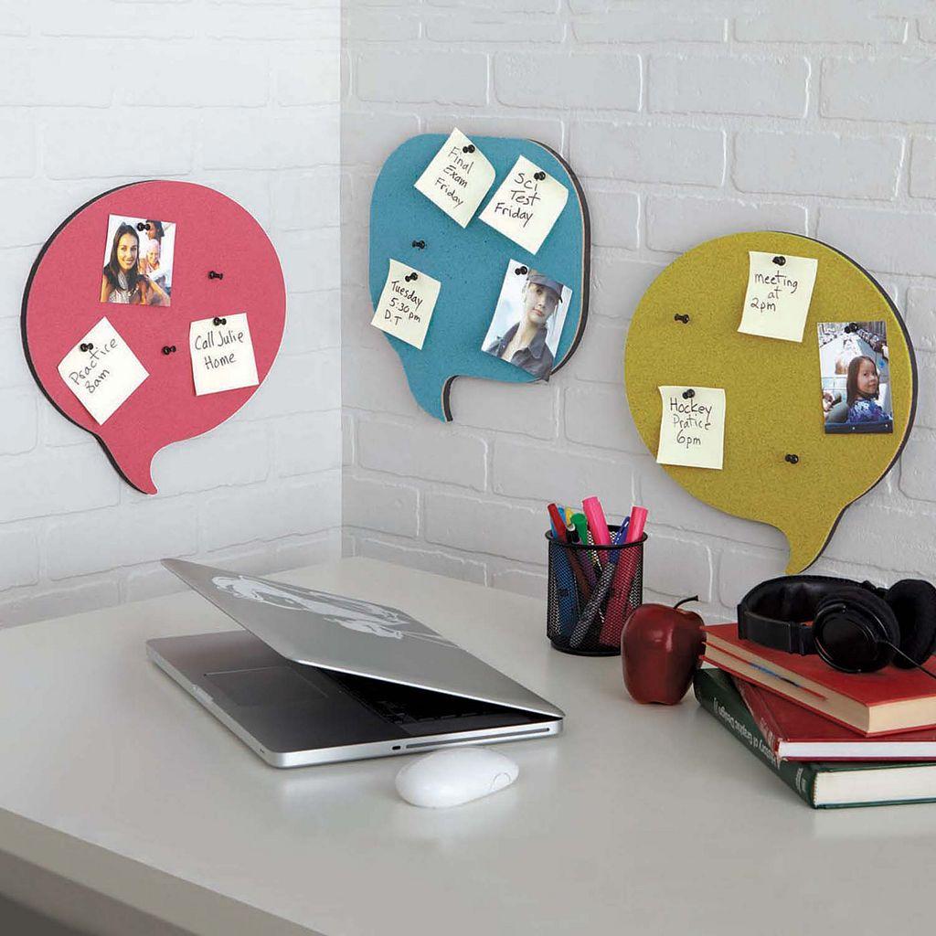 Nexxt Chat Cork Board Set