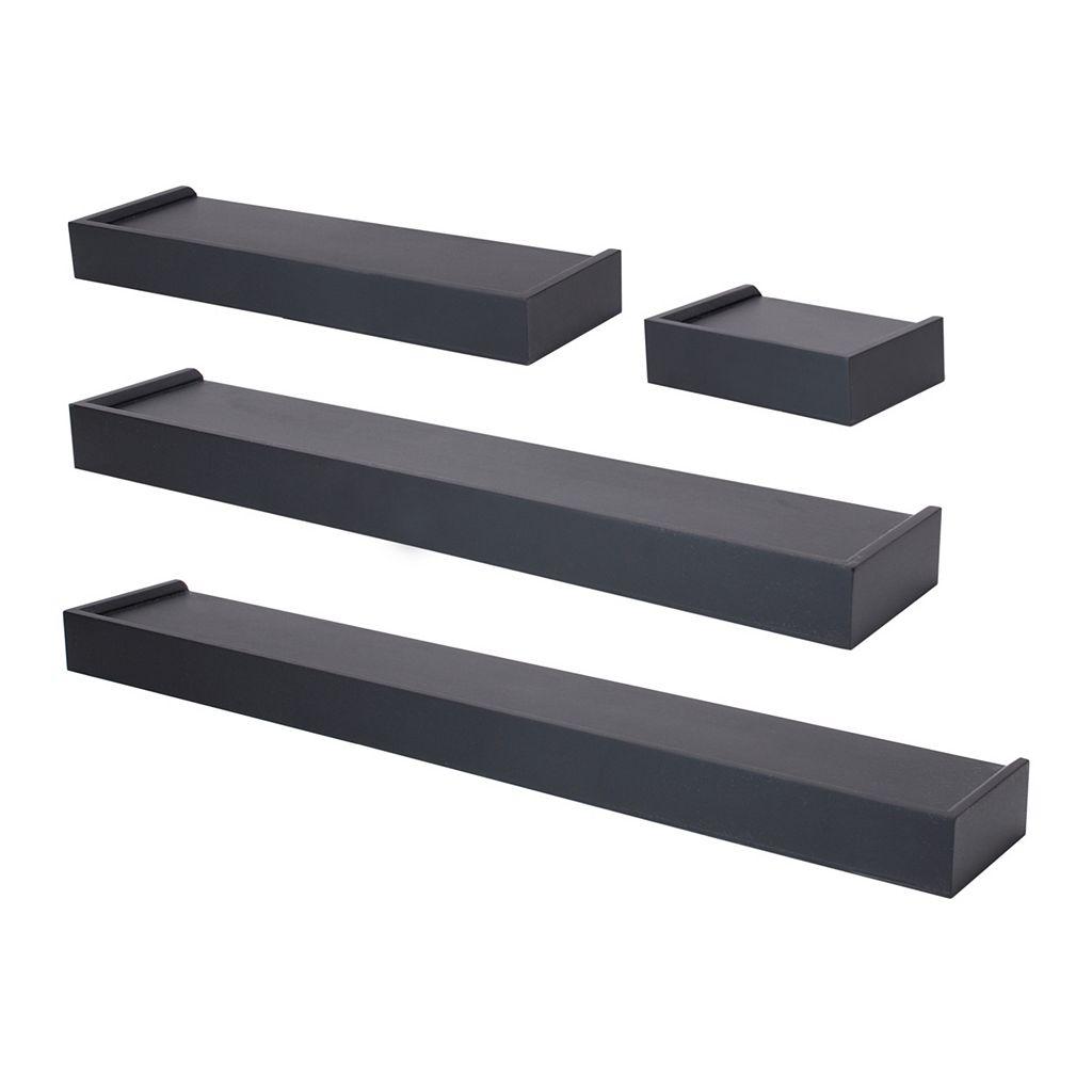 Nexxt Vertigo Wall Shelf 4-piece Set