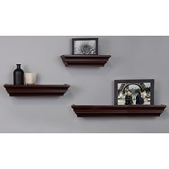 Nexxt Madison Contoured Wall Shelf 3-piece Set