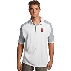 Men's Antigua Illinois Fighting Illini Century Polo