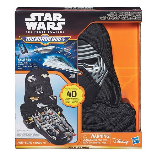 Star Wars: The Force Awakens Kylo Ren Micro Machines Playcase