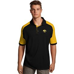 Men's Antigua Iowa Hawkeyes Century Polo
