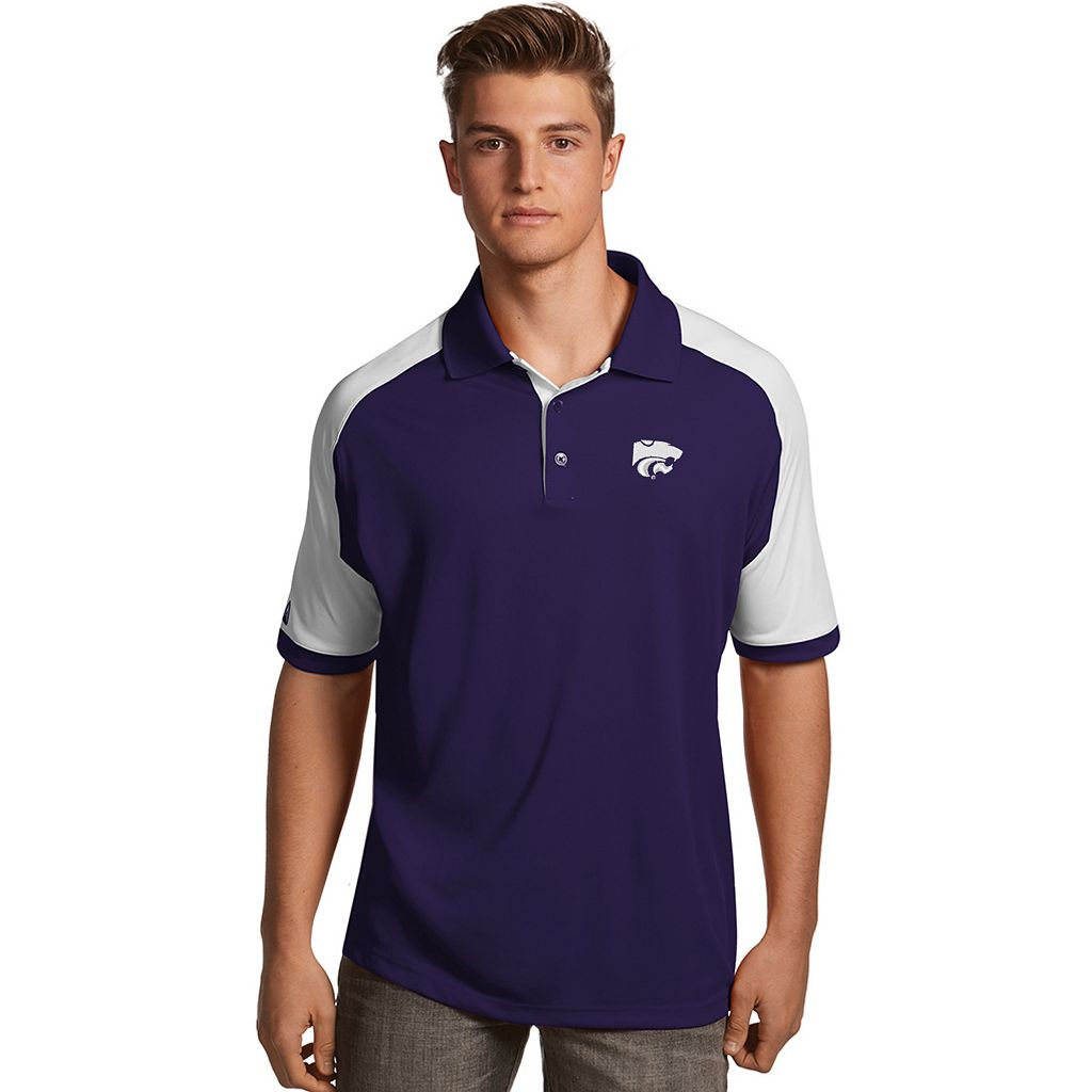 Men's Antigua Kansas State Wildcats Century Polo